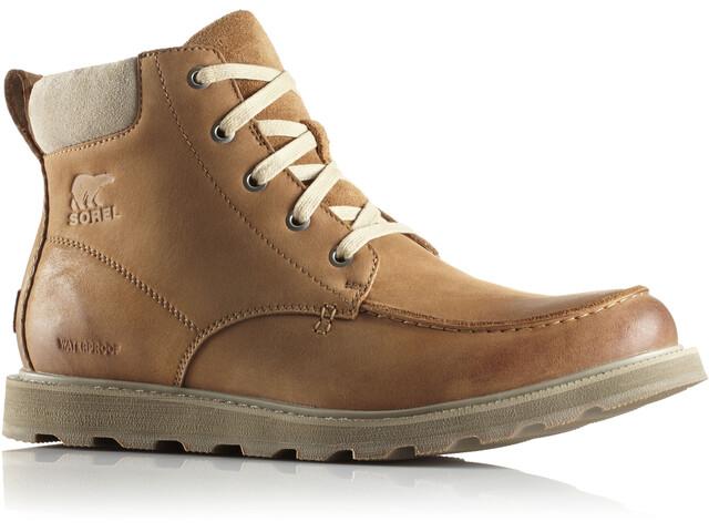 Sorel Madson Moc Toe Shoes Men Camel Brown/Oatmeal